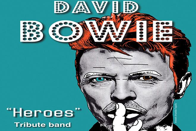 Μουσικό αφιέρωμα στον David Bowie στο Μέγαρο Μουσικής αυτήν την Παρασκευή