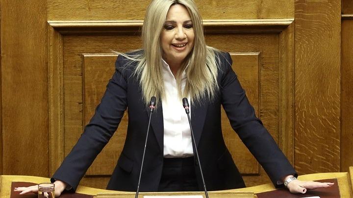 Φώφη Γεννηματά: Να δώσουμε ελπίδα στους Έλληνες ότι δεν ήλθε το τέλος της πολιτικής
