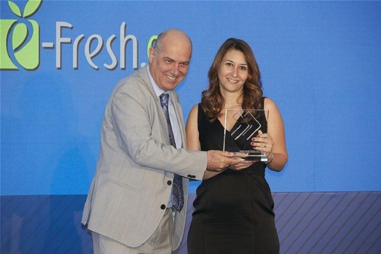 Ο ΟΠΑΠ βραβεύει την e-fresh.gr για την ταχύτερη ανάπτυξη πωλήσεων 2017-2018