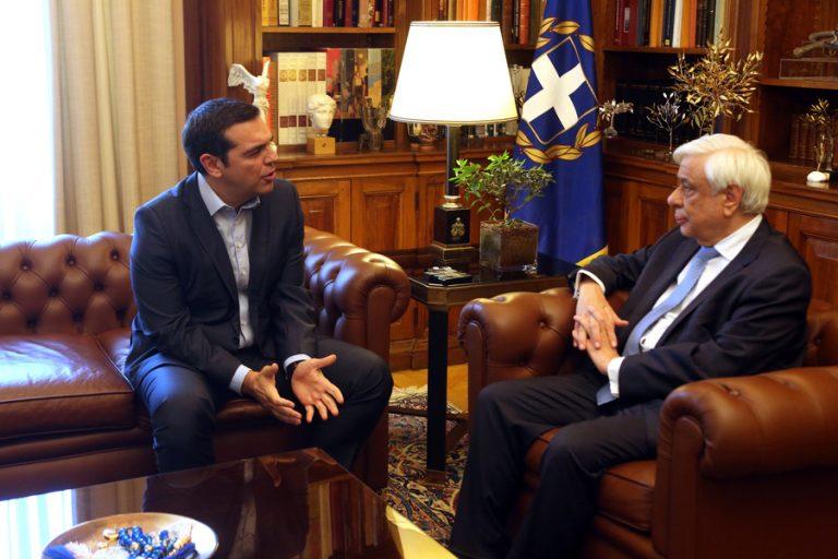 Αντίστροφη μέτρηση για τις εκλογές: Στον Παυλόπουλο σήμερα ο Τσίπρας