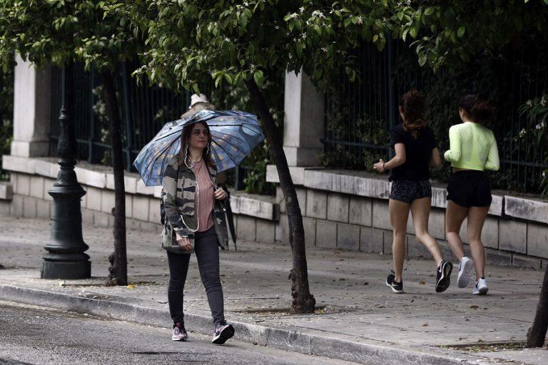 Ραγδαία μεταβολή του καιρού με καταιγίδες και πτώση της θερμοκρασίας
