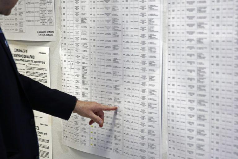 Αυτοδιοικητικές εκλογές 2019: Νίκες Πατούλη στην Αττική, Μπακογιάννη στην Αθήνα και Ζέρβα στη Θεσσαλονίκη