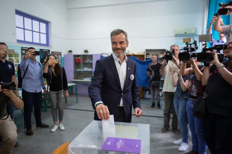 Μεγάλη διαφορά υπέρ του Κωνσταντίνου Ζέρβα δίνει το exit poll της Θεσσαλονίκης