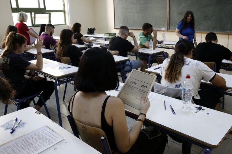 Πανελλήνιες 2019: Σε Αρχαία και Μαθηματικά εξετάζονται οι μαθητές σήμερα