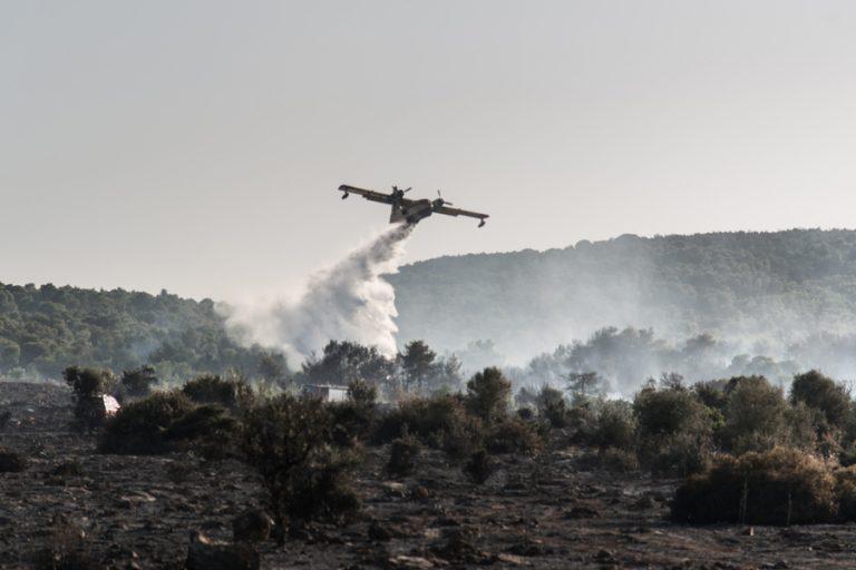 Εκκενώθηκαν 4 χωριά από την πυρκαγιά στην Εύβοια – Μία σύλληψη για εμπρησμό