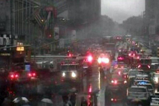 Ελικόπτερο συνετρίβη σε κτίριο στο Μανχάταν της Νέας Υόρκης
