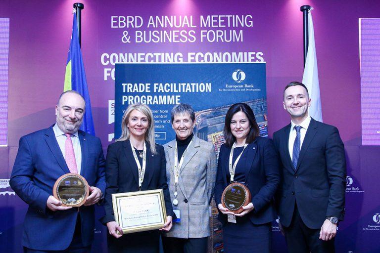 Ως την τράπεζα που έκανε τα περισσότερα για την προώθηση του διεθνούς εμπορίου ανέδειξε την Alpha Bank η EBRD