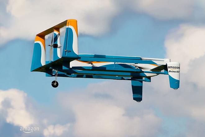Τα drones της Amazon που θα παρακολουθούν το έδαφος και θα συλλέγουν δεδομένα
