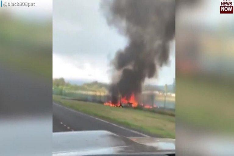 Τουλάχιστον εννέα νεκροί από την πτώση αεροσκάφους στη Χαβάη (Βίντεο)