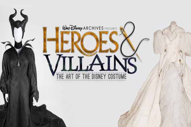Όλα τα αγαπημένα κοστούμια της Disney σε μια έκθεση (Φωτογραφίες και Βίντεο)