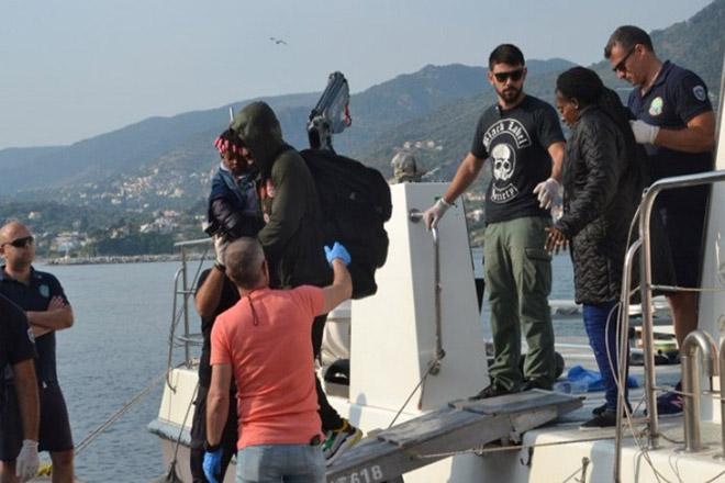 Επτά νεκροί μετανάστες στο τραγικό ναυάγιο στη θαλάσσια περιοχή της Λέσβου