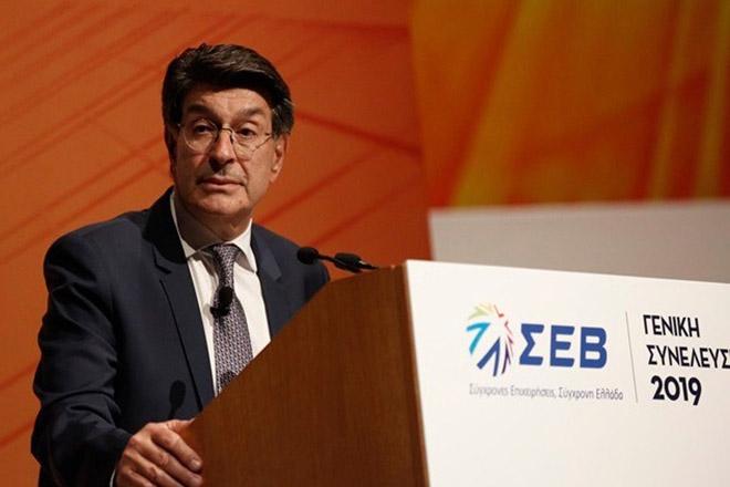 Τα έντεκα θετικά παραδείγματα για την ενίσχυση της ελληνικής οικονομίας που προβλήθηκαν στη Γενική Συνέλευση του ΣΕΒ