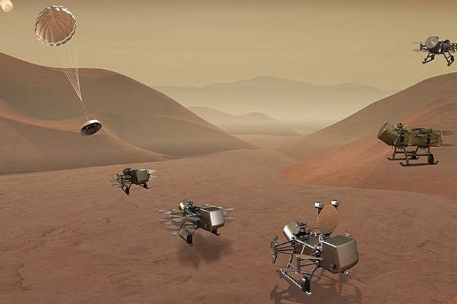 Η NASA στέλνει ρομποτικό drone στον Τιτάνα για να τον εξερευνήσει (Βίντεο)