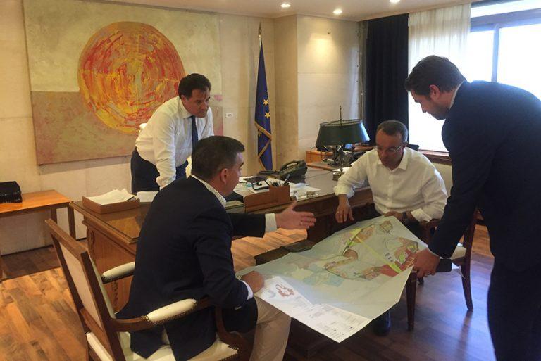 Νέες συναντήσεις Γεωργιάδη για την επένδυση στο Ελληνικό με τοπικούς φορείς και παράγοντες του έργου