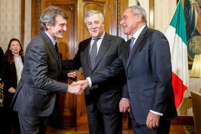 O Νταβίντ-Μαρία Σασόλι νέος πρόεδρος του Ευρωπαϊκού Κοινοβουλίου