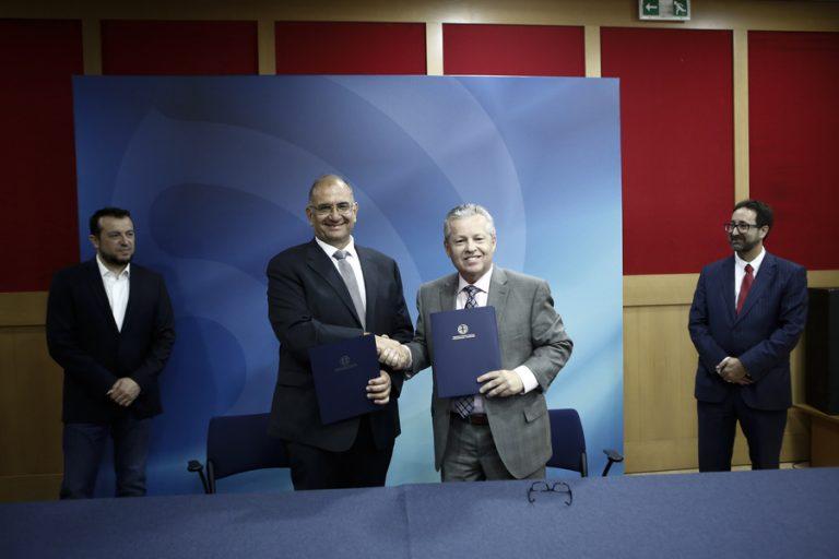 Υπογραφή διεθνών συμφωνιών της ΕΛΔΟ για την ανάπτυξη της θέσης της Ελλάδας στην αγορά του διαστήματος