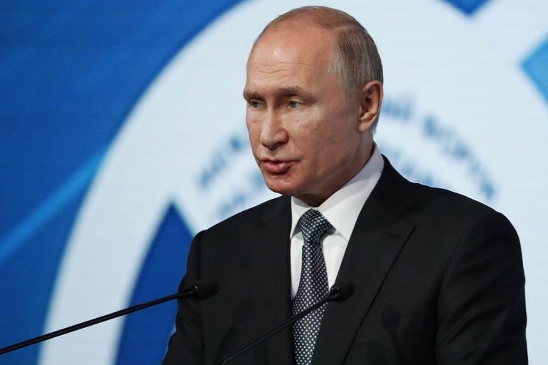 Πούτιν: «Έχουμε τα μέσα για την ολοκλήρωση του Nord Stream 2»