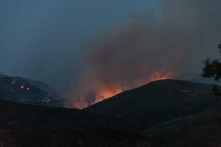 Μπακογιάννης: Δίνουμε μεγάλη μάχη για τη φωτιά στην Εύβοια