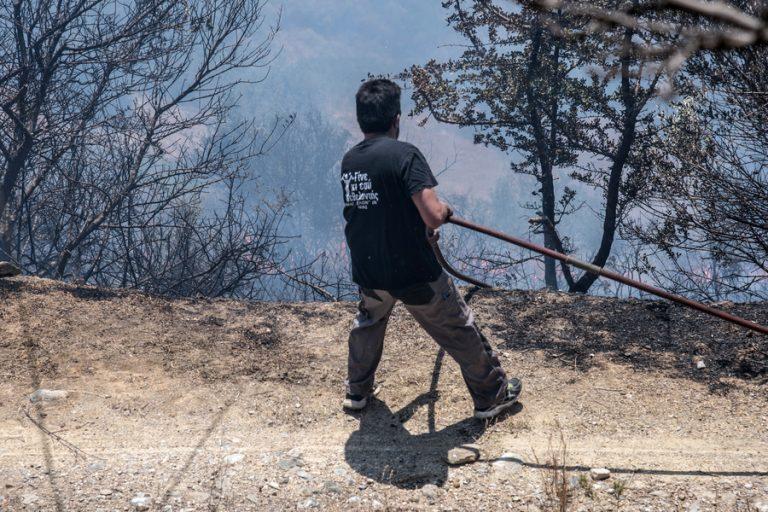 Σε κατάσταση Έκτακτης Ανάγκης κηρύχθηκαν οι περιοχές της Εύβοιας που επλήγησαν από τις πυρκαγιές
