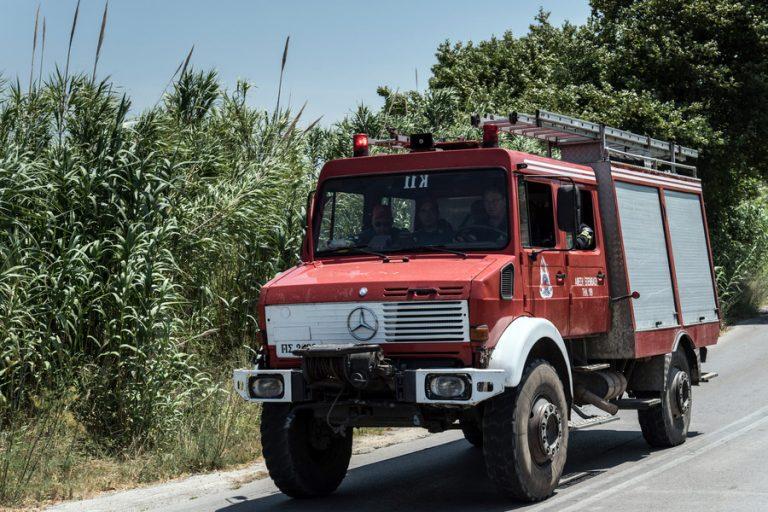 Μεγάλη πυρκαγιά σε δύσβατη περιοχή στη Ζάκυνθο