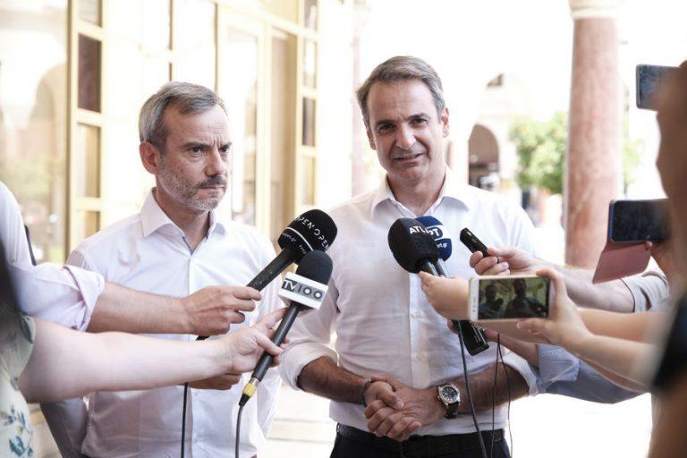 Μητσοτάκης: Είμαι απολύτως πεπεισμένος ότι η Ελλάδα είναι έτοιμη να γυρίσει σελίδα και ότι θα δώσει ισχυρή εντολή στη ΝΔ