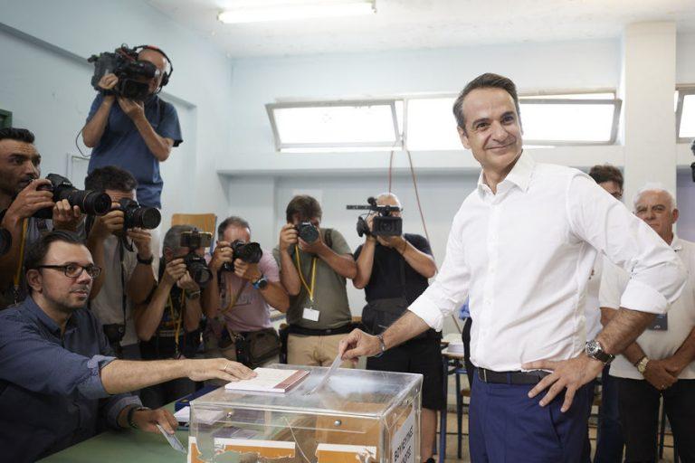 Νέα Δημοκρατία: Πρόκειται για «ιστορική νίκη που πιστώνεται προσωπικά ο Κυριάκος Μητσοτάκης»