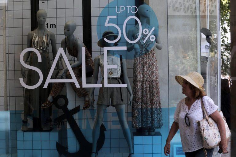 Καθολική πτώση του retail στην Ελλάδα τον Ιούλιο