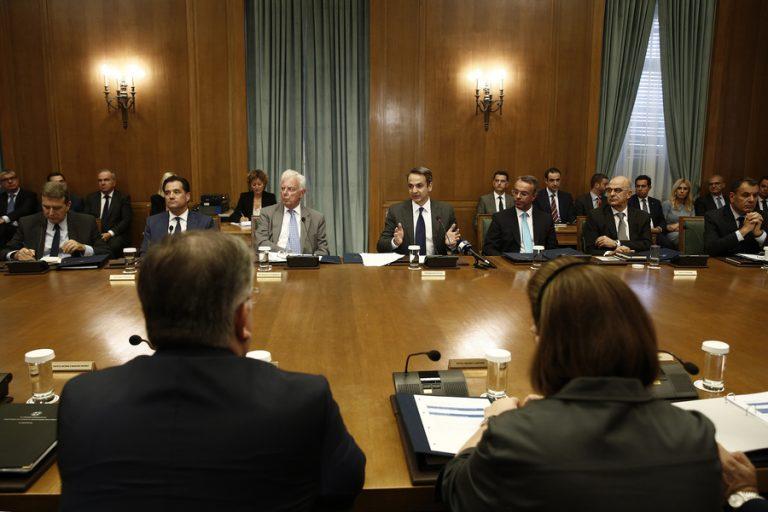 Συνεδριάζει σήμερα το υπουργικό συμβούλιο: Φορολογικό και αυτοδιοίκηση στην ατζέντα
