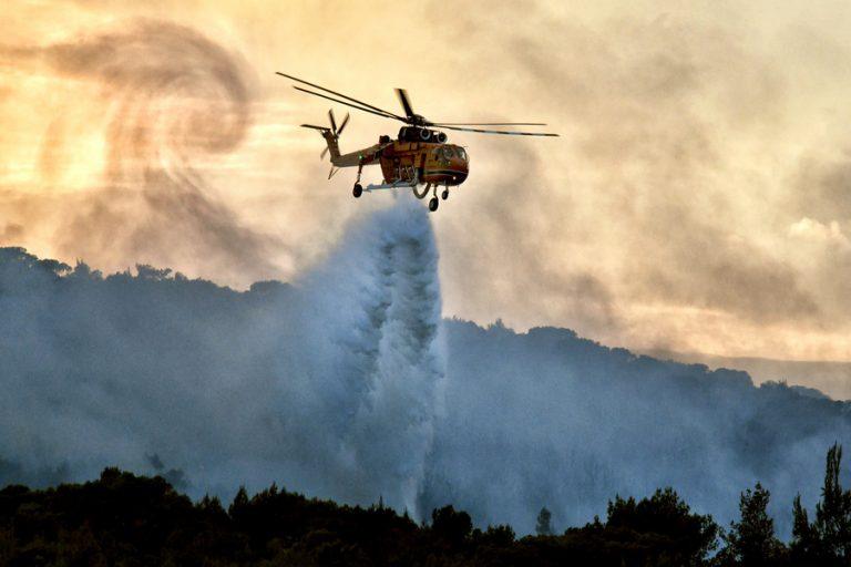 Είκοσιτέσσερις δασικές πυρκαγιές εκδηλώθηκαν το τελευταίο 24ωρο σε όλη την Ελλάδα