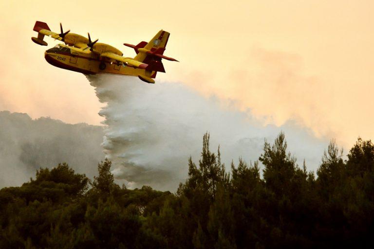 Υπό έλεγχο τέθηκε η μεγάλη φωτιά στη νότια Κέρκυρα
