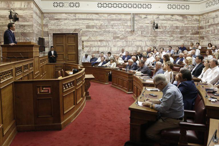 Τσίπρας: Η κυβέρνηση του κ. Μητσοτάκη επιχειρεί να λανσάρει ένα πρωτότυπο μοντέλο κυβέρνησης Ανώνυμης Εταιρείας