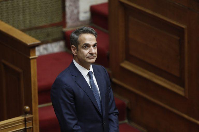 Αυλαία για τις προγραμματικές δηλώσεις της κυβέρνησης στην Ολομέλεια της Βουλής