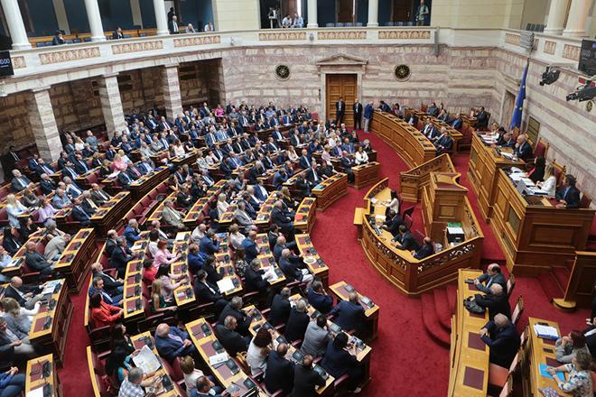 Υπερψηφίστηκε επί της αρχής μόνο από ΝΔ το διυπουργικό νομοσχέδιο