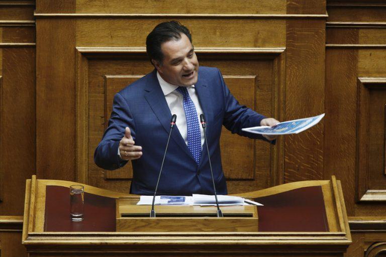 Γεωργιάδης στη βουλή: Το Ελληνικό θα ξεκινήσει εντός του 2019