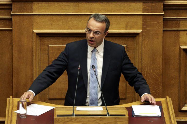 Σταϊκούρας (ΥΠΟΙΚ): Έρχονται 19,4 δισ. ευρώ σε επενδύσεις, νέο πρόγραμμα ΓΕΦΥΡΑ και ρύθμιση οφειλών – Στα 59 δισ. ευρώ τα NPEs