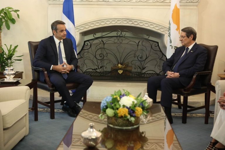 Μητσοτάκης: Ελλάδα και Κύπρος αντιμετωπίζουν πάντα ενωμένες τις προκλήσεις στην ευρύτερη περιοχή
