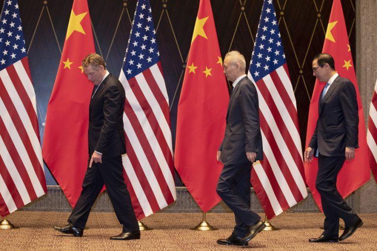 Σε επαφές ΗΠΑ και Κίνα για την υπογραφή της προκαταρκτικής εμπορικής συμφωνίας