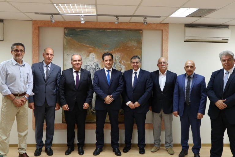 Συνάντηση Γεωργιάδη- ΕΒΕΠ για Θριάσιο και Πειραιά- Το σχέδιο για τα επιμελητήρια