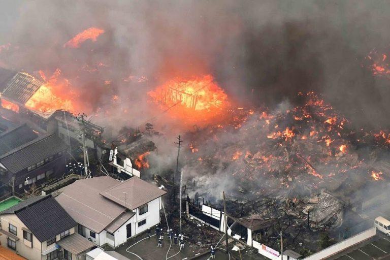 Τραγωδία στην Ιαπωνία: Τουλάχιστον 24 οι νεκροί από την πυρκαγιά