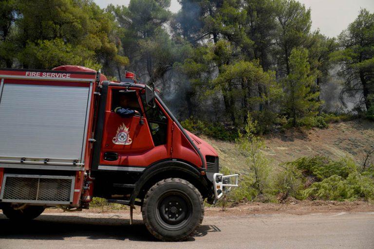 Πυρκαγιά στην Πεντέλη – Κλειστό τμήμα της Δουκίσσης Πλακεντίας