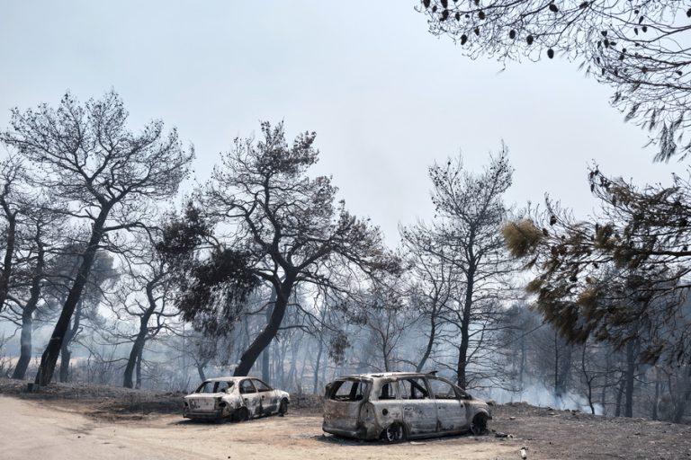 Χωρίς ενεργό μέτωπο η πυρκαγιά στην Εύβοια – Οριοθετήθηκε η φωτιά κατά τη διάρκεια της νύχτας
