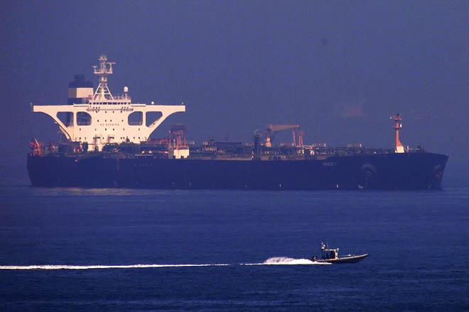 «Ένταλμα σύλληψης» του ιρανικού δεξαμενόπλοιου Grace 1 εξέδωσαν οι ΗΠΑ