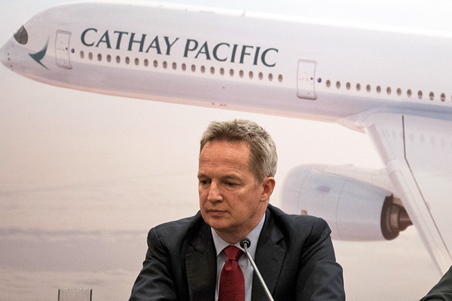 Παραιτήθηκε ο CEO της Cathay Pacific εξαιτίας της κρίσης στο Χονγκ Κονγκ