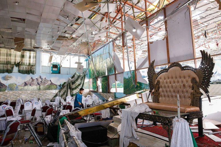 Αφγανιστάν: 63 νεκροί και 182 τραυματίες από επίθεση καμικάζι σε γαμήλια γιορτή (Φωτογραφίες)