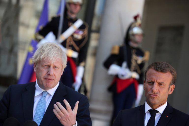 Μακρόν σε Τζόνσον: Η τύχη της Βρετανίας είναι αποκλειστικά δική σας επιλογή
