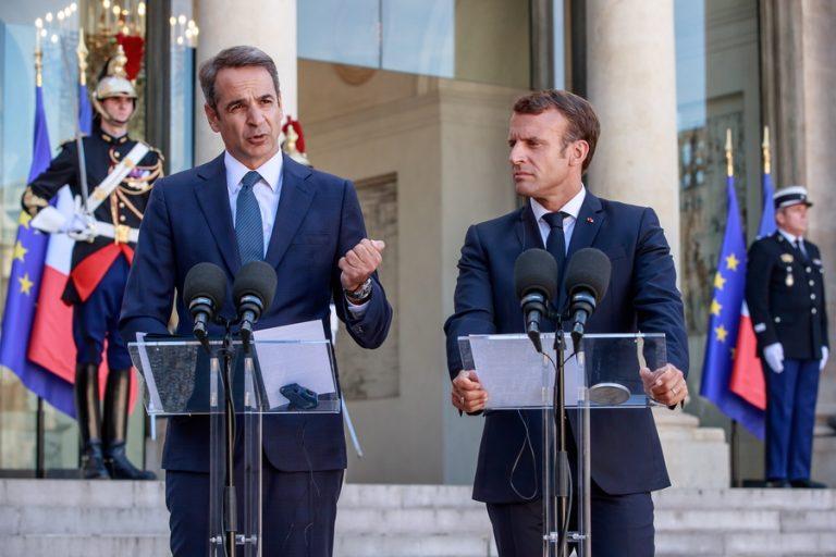«Ελλάς Γαλλία συμμαχία» απέναντι στη τουρκική προκλητικότητα