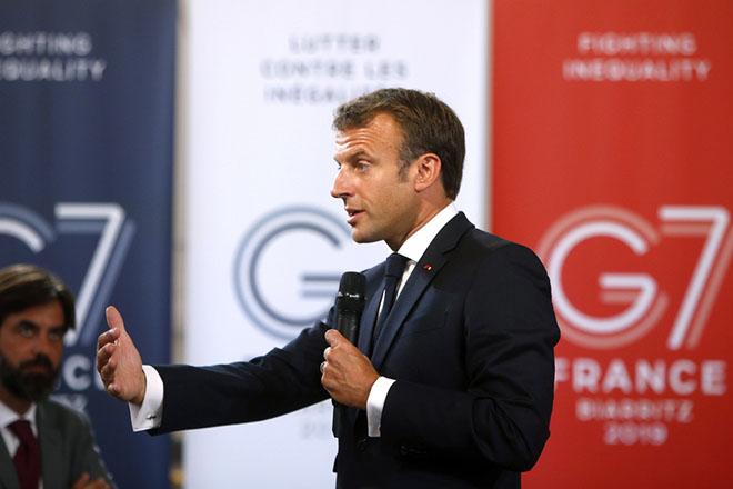 Μακρόν: Καμία συναίνεση για πρόσκληση της Ρωσίας στην επόμενη Σύνοδο των G7