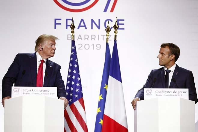 Μακρόν: Μήνυμα ενότητας από τους ηγέτες στην G7 – Τραμπ: Το Πεκίνο δεν έχει άλλη επιλογή παρά να υποκύψει στην αμερικανική πίεση