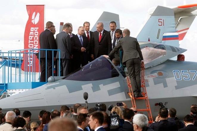 To «αόρατο» ρωσικό μαχητικό που θα παρουσιαστεί μπροστά στον Ερντογάν