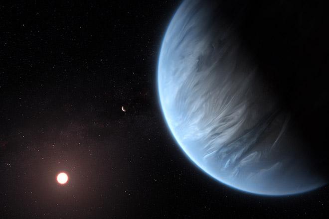 Νερό σε πιθανώς κατοικήσιμο εξωπλανήτη ανακάλυψαν επιστήμονες με επικεφαλής έναν Έλληνα αστρονόμο της διασποράς